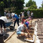 Adobe Brick-Making at the Community Garden at Holy Nativity, May 2015