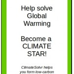 Global warming ACTION smartphone app
