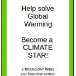 Global warming ACTION smartphone app