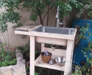 garden sink 2